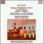 Haydn: Famous Symphonies, Vol. 1 - No. 100 'Military', No. 82 'The Bear', No. 96 'The Miracle'