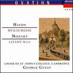 Haydn: Heilegmesse; Mozart: Litany