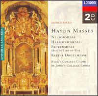 Haydn: Nelsonmesse; Harmoniemesse; Paukenmesse; Kleine Orgelmesse - Academy of St. Martin in the Fields; Alexander Young (tenor); April Cantelo (soprano); Barry McDaniel (bass);...