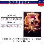 Haydn: Schöpfungsmesse; Mozart: Spaur-messe