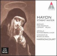Haydn: Stabat Mater - Alastair Miles (bass); Barbara Bonney (soprano); Concentus Musicus Wien; Elisabeth von Magnus (mezzo-soprano);...