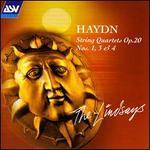 Haydn: String Quartets Op. 20 Nos.1, 3 & 4