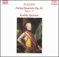 Haydn: String Quartets, Op. 54, Nos. 1-3 - Kodály Quartet