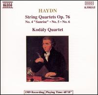 "Haydn: String Quartets, Op. 76, No. 4 ""Sunrise"", No. 5, No. 6 - Kodály Quartet"