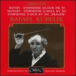 "Haydn: Symphonie Es-Dur Nr. 99; Mozart: Symphonies KV 183, KV 504 ""Prager"""