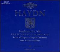 Haydn: Symphonies Nos. 1-20 - Béla Drahos (flute); Franz Bauer (double bass); Fritz Dolezal (cello); Gerhard Turetschek (oboe); Gunter Hogner (horn);...