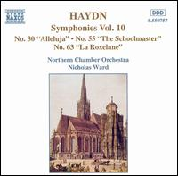 "Haydn: Symphonies Nos. 30 (""Alleluja""), 55 - Northern Chamber Orchestra; Nicholas Ward (conductor)"