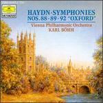 "Haydn: Symphonies Nos. 88, 89 & 92 ""Oxford"""