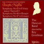 Haydn: Symphony Nos. 45-47