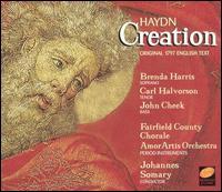 Haydn: The Creation - Brenda Harris (soprano); Carl Halvorson (tenor); Edward Brewer (harpsichord); John Cheek (bass);...
