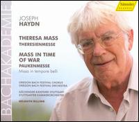 Haydn: Theresa Mass; Mass in Time of War - Christoph Prégardien (tenor); Corby Welch (tenor); Ingeborg Danz (alto); Michel Brodard (bass); Roxana Constantinescu (alto);...