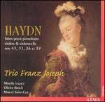 Haydn: Trios pour pianoforte, violon & violoncelle Nos. 43, 31, 26 et 39