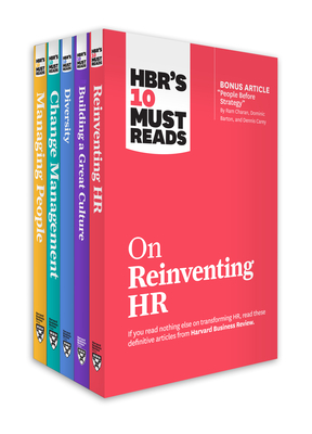 Hbr's 10 Must Reads for HR Leaders Collection (5 Books) - Review, Harvard Business, and Buckingham, Marcus, and Kim, W Chan