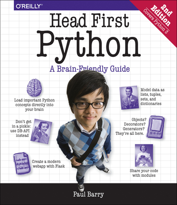 Head First Python: A Brain-Friendly Guide - Barry, Paul