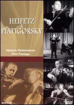 Heifetz and Piatigorsky