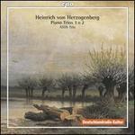 Heinrich von Herzogenberg: Piano Trios Nos. 1 & 2