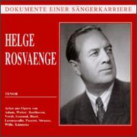 Helge Rosvaenge: Tenor - Helge Rosvaenge (vocals); Wiener Philharmoniker
