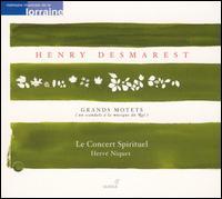 Henry Desmarest: Grands Motets - Benoît Arnould (baritone); François-Nicolas Geslot (high tenor vocal); Hanna Bayodi-Hirt (soprano);...