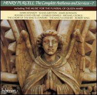 Henry Purcell: The Complete Anthems and Services, Vol. 7 - Charles Daniels (tenor); Charles Fullbrook (drums); David Miller (theorbo); David Woodcock (violin); Eamonn O'Dwyer (treble);...