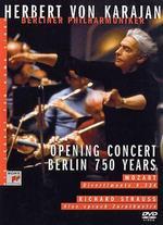 Herbert Von Karajan - His Legacy for Home Video: Opening Concert Berlin - 750 Years -