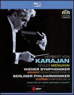 Herbert Von Karajan: Mozart - Violin Concerto No. 5/Dvorak - Symphony No. 9 [Blu-ray]