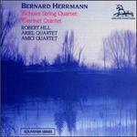 Herrmann: Clarinet Quintet/Echoes Quartet