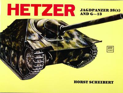 Hetzer: Jagdpanzer 38 (T) - Scheibert, Horst