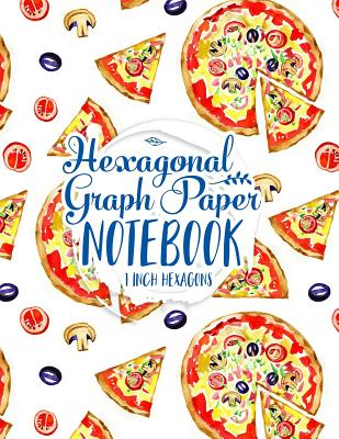 Hexagonal Graph Paper Notebook: 1 Inch Hexagons: Organic Chemistry Notebook Paper & for Creative Crafts, Quilting, Design, Drawing, 100 Pages - Publishing, Moito
