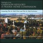 Highlights from Garrison Keillor's a Prairie Home Companion