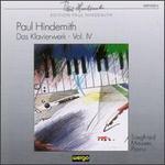 Hindemith: Das Klavierwerk, Vol.IV