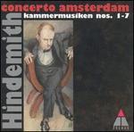 Hindemith: Kammermusik Nos.1-7