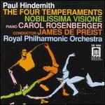 Hindemith: The Four Temperaments; Nobilissima Visione