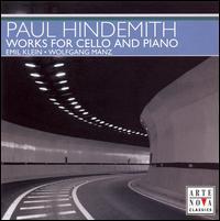 Hindemith: Works for Cello & Piano - Emil Klein (cello); Wolfgang Manz (piano)