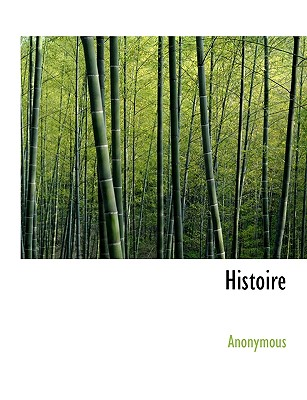 Histoire - Anonymous