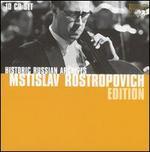 Historic Russian Archives: Mstislav Rostropovich Edition
