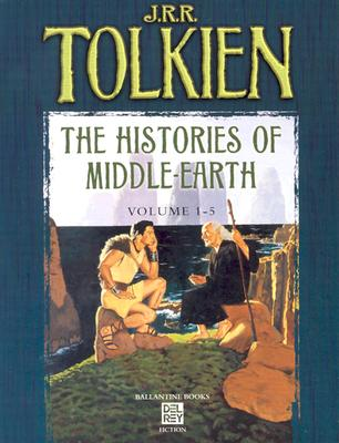 Histories of Middle Earth 5c Box Set MM - Tolkien, J R R