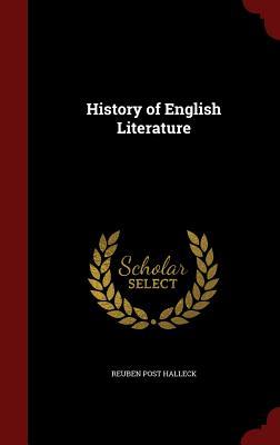History of English literature - Halleck, Reuben Post