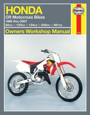 HM Honda CR Motocross Bikes 1986-2007 - Haynes, John H
