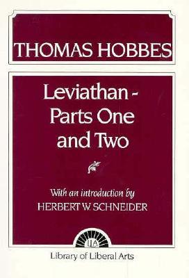 Hobbes: Leviathan 1 and 2 - Schneider, Herbert W.