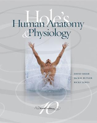 Hole's Human Anatomy and Physiology: With OLC Bind-in Card - Shier, David N., and Butler, Jackie, and Lewis, Ricki