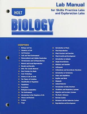 Holt Biology Lab Manual for Skills Practice Labs and Exploration Labs - Holt Rinehart & Winston (Creator)