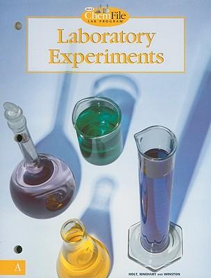 Holt ChemFile Lab Program Laboratory Experiments, Level A - Holt Rinehart & Winston (Creator)