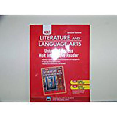 Holt Literature and Language Arts California: Universal Access: Interactive Reader Grade 8 - Beers