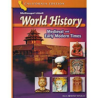 Holt World History California: Spanish Student Edition Grades 6-8 Medieval Times 2006 - Holt Rinehart & Winston