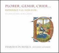 "Hommage à la ""Voix d'Or"" de Johannes Ockeghem - Diabolus in Musica"