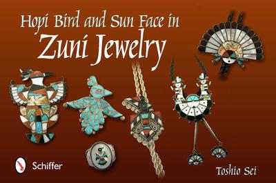 Hopi Bird and Sun Face in Zuni Jewelry - Sei, Toshio