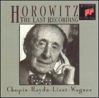 Horowitz: The Last Recording - Vladimir Horowitz (piano)
