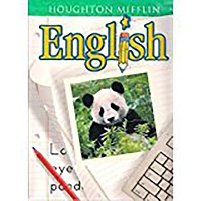 Houghton Mifflin English: Student Edition Softcover Level 1 2001 - Houghton Mifflin Company (Prepared for publication by)