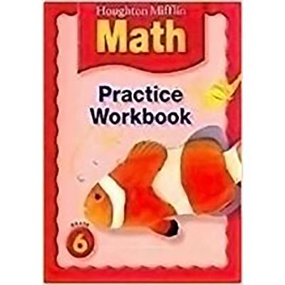 Houghton Mifflin Math: Practice Book Level 6 - Houghton Mifflin Company (Prepared for publication by)