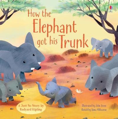 How the Elephant Got His Trunk - Milbourne, Anna